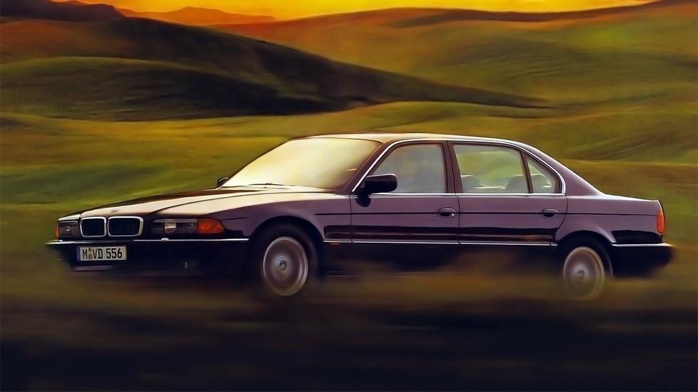 На фото: BMW 7 Series (E38) '1994–98