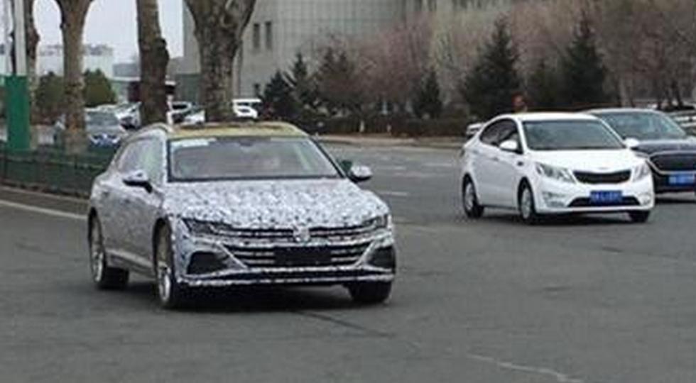 Volkswagen Arteon: свежие фото универсала и обновки для лифтбека