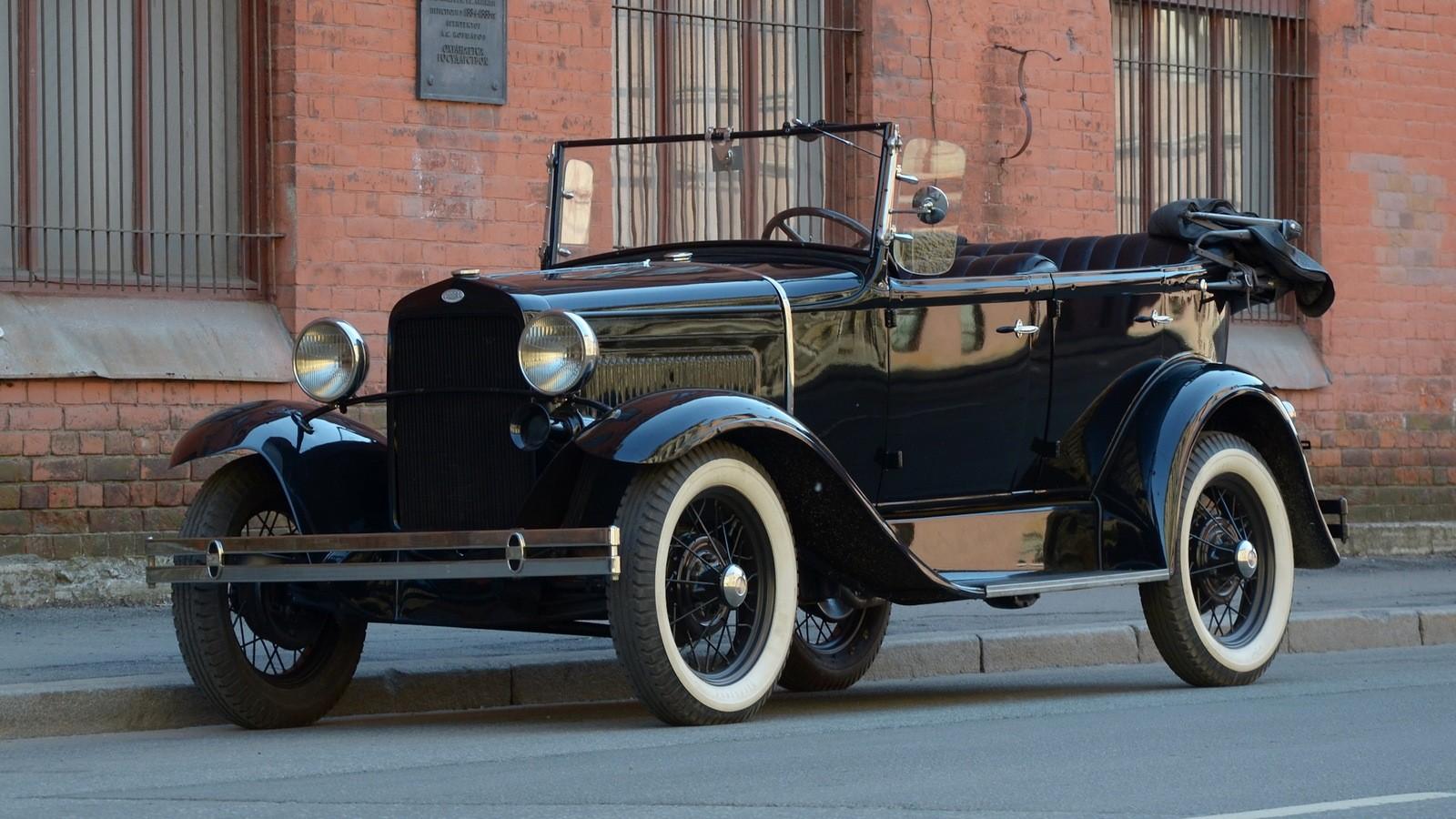 На фото: ГАЗ-А '1932–36
