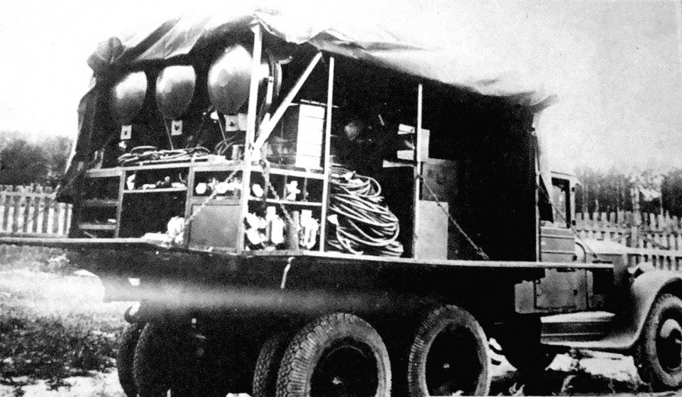 Вспомогательная машина электростанции АЭС-4 (из фондов петербургского Музея артиллерии)