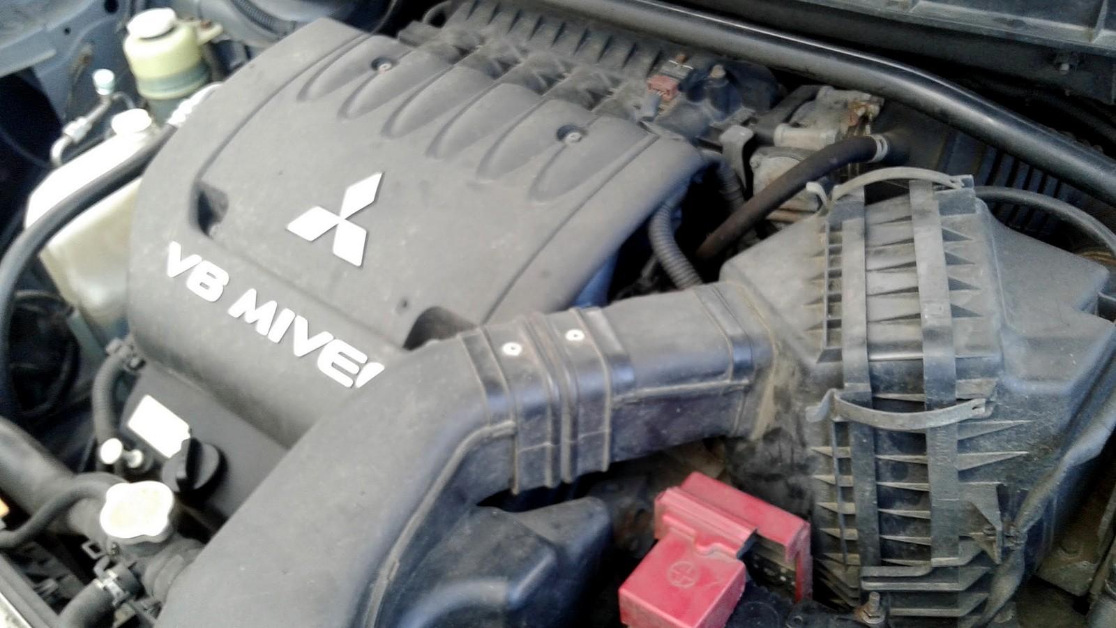 Mitsubishi Outlander II двигатель (2)