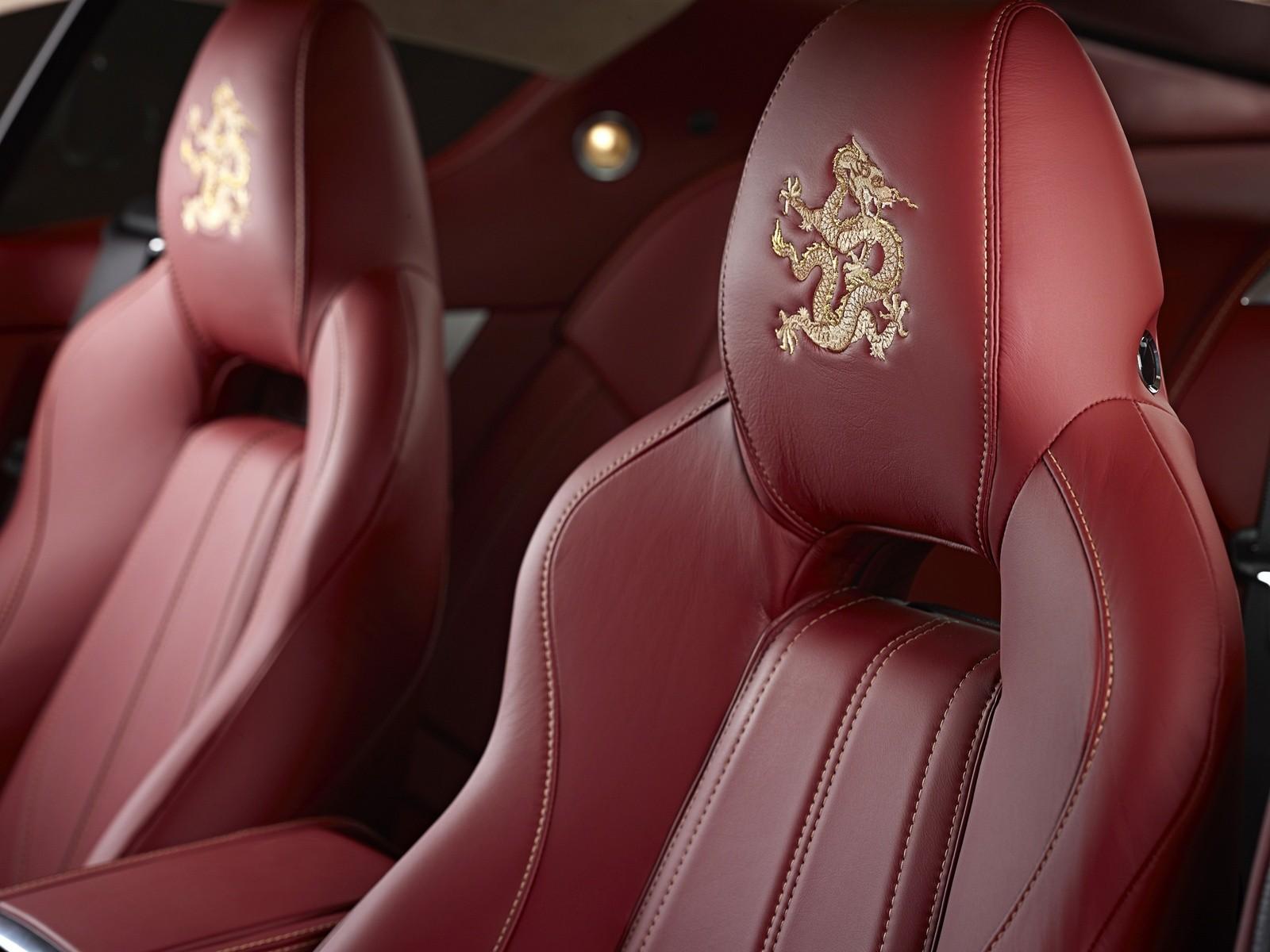 Aston Martin Virage Dragon 88 '2012 сидения