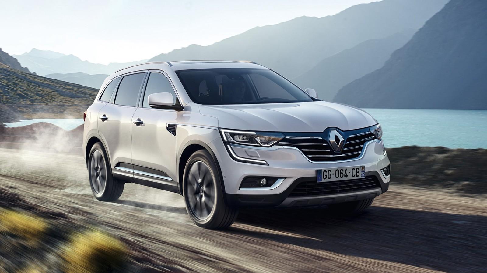 На фото: новый Renault Koleos