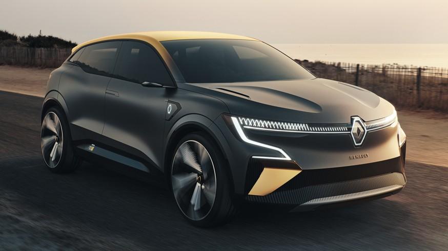 концепт Renault Megane eVision