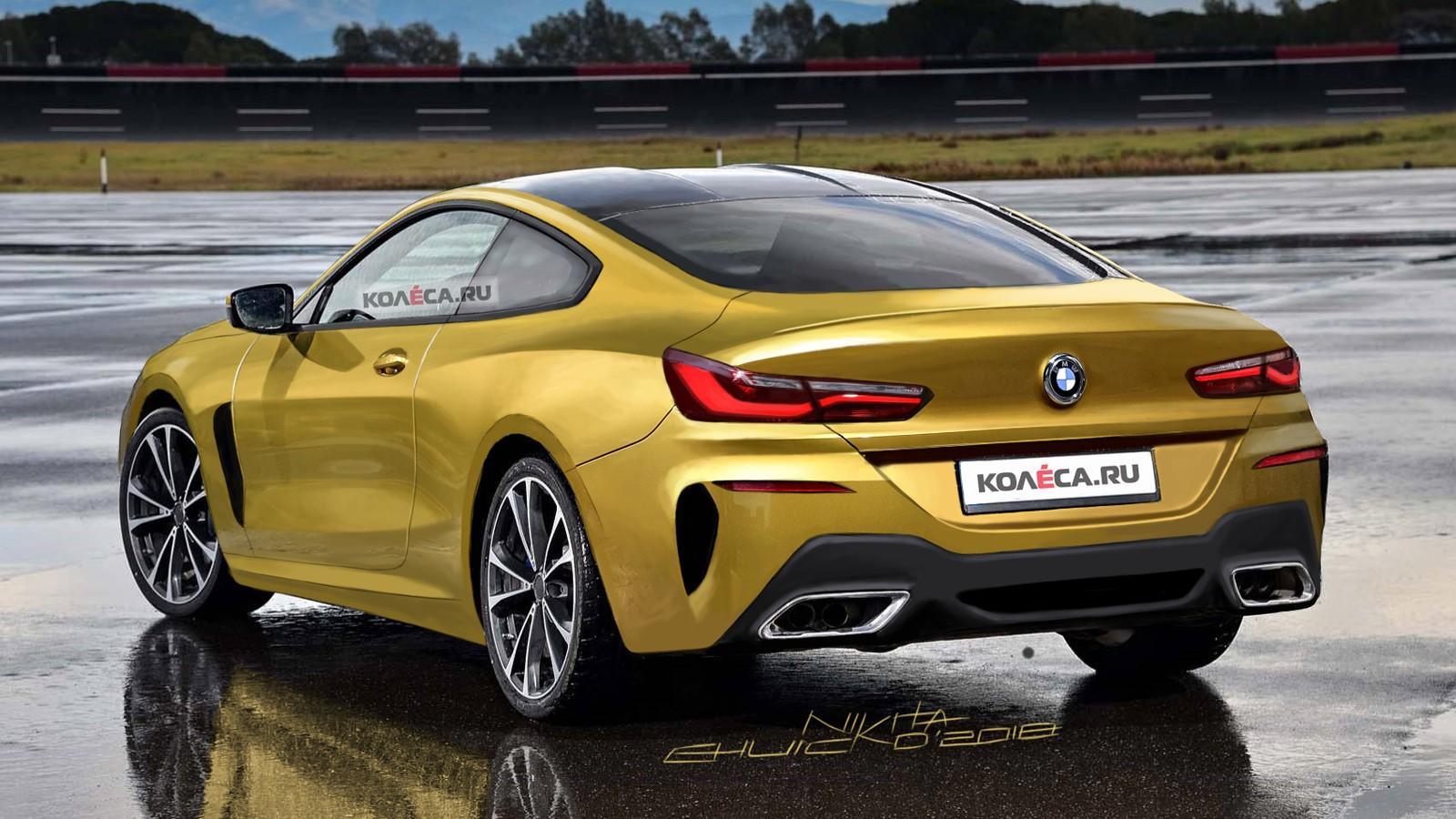 BMW 8 rear2
