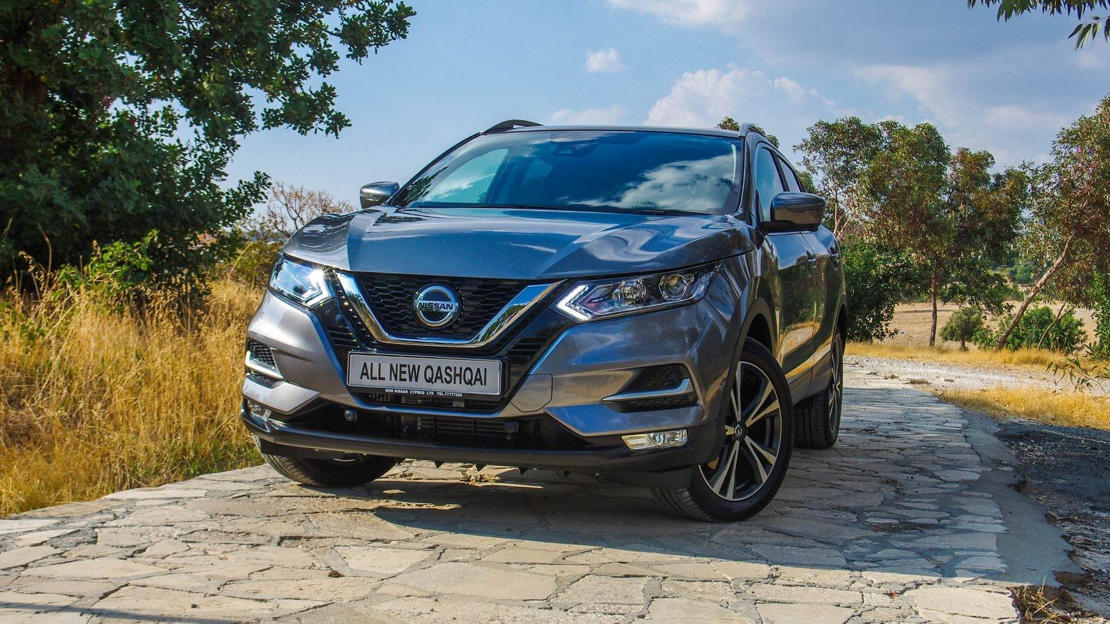 Nissan Qashqai три четверти (1)