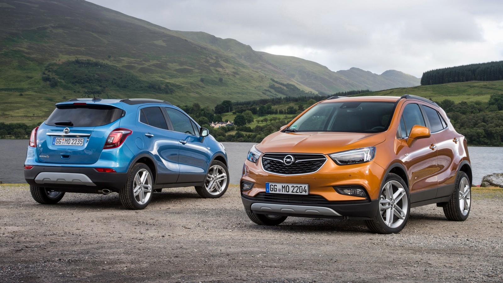 На фото: Opel Mokka X`2016