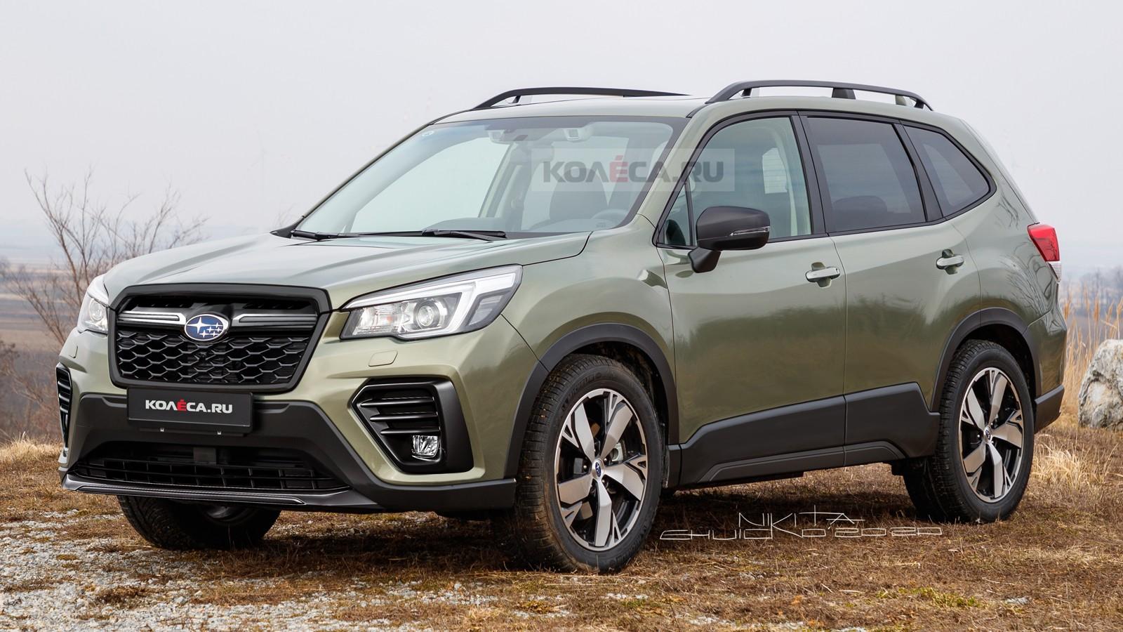 Обновлённый Subaru Forester: первые изображения