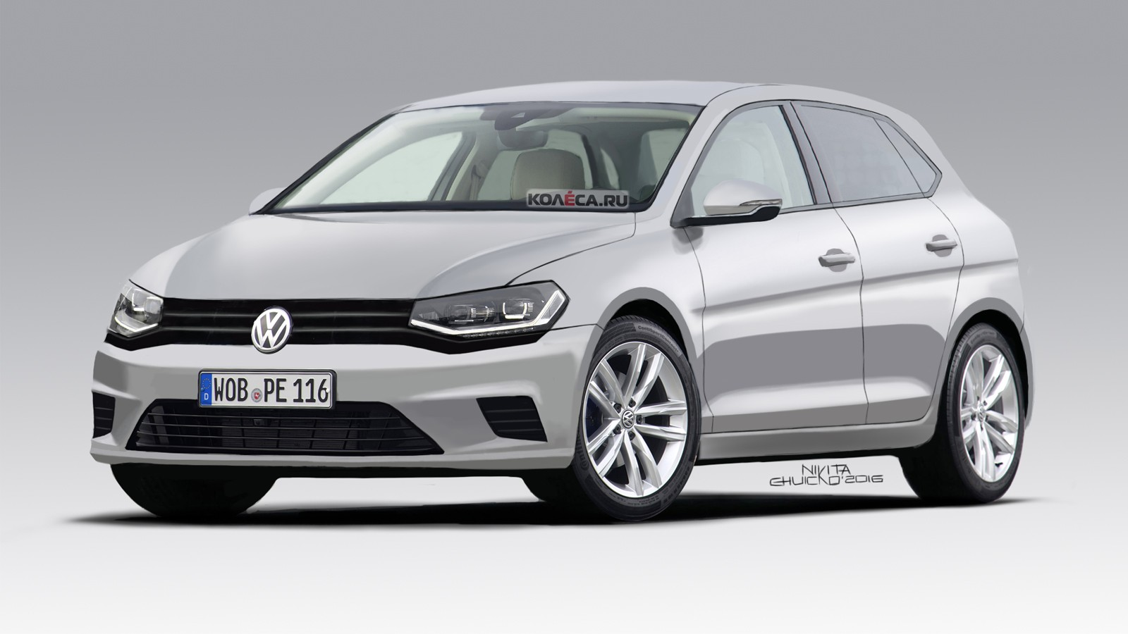 VW Polo front