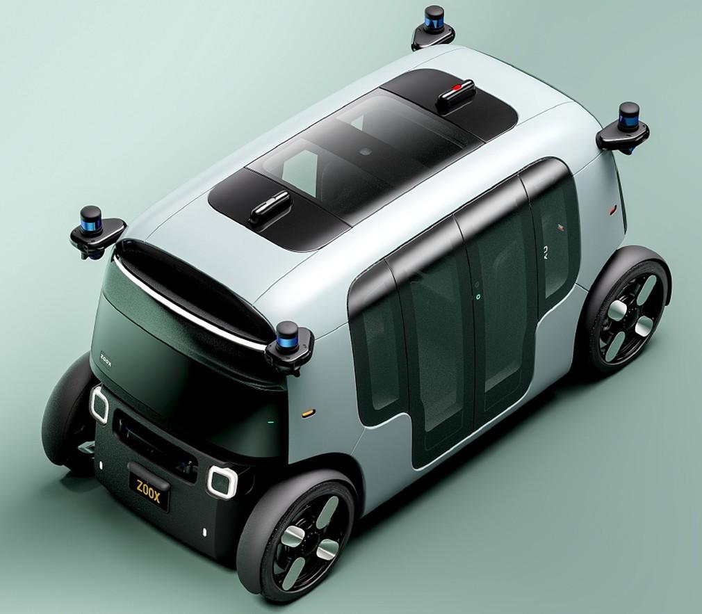 Amazon Zoox: IT-гигант представил роботакси и подушками-коконами