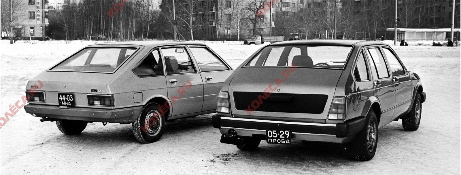 Как «Москвич-2141» из заднеприводного стал переднеприводным