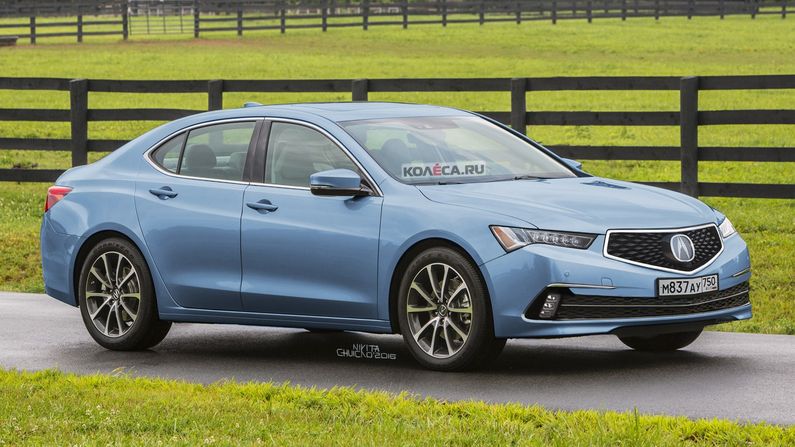 Acura TLX front1