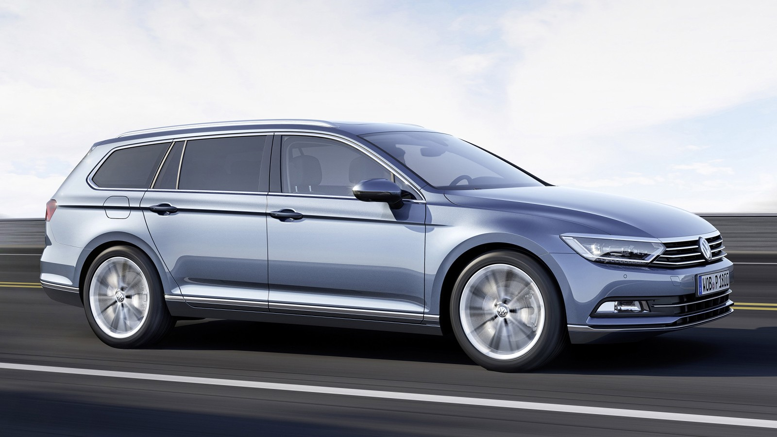 На фото: Volkswagen Passat Variant
