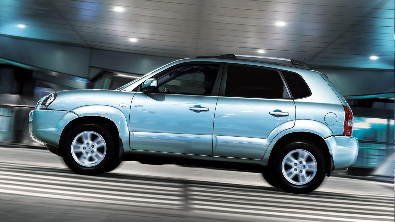 Hyundai Tucson Worldwide '2004–09ф