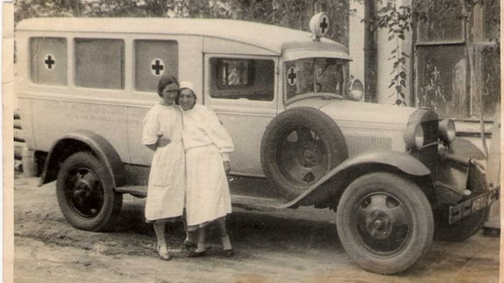 Довоенная скоря на базе ГАЗ-АА с удалённой второй арой задних колёс