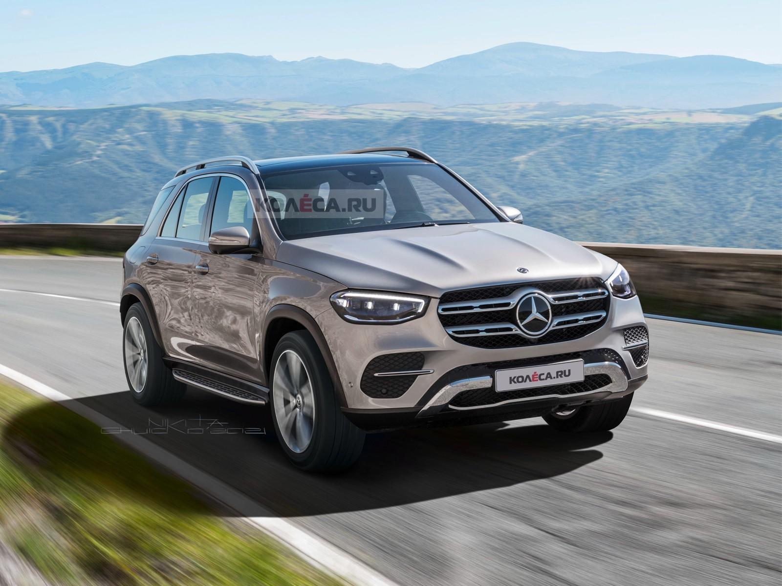 Обновлённый Mercedes-Benz GLE: первые изображения