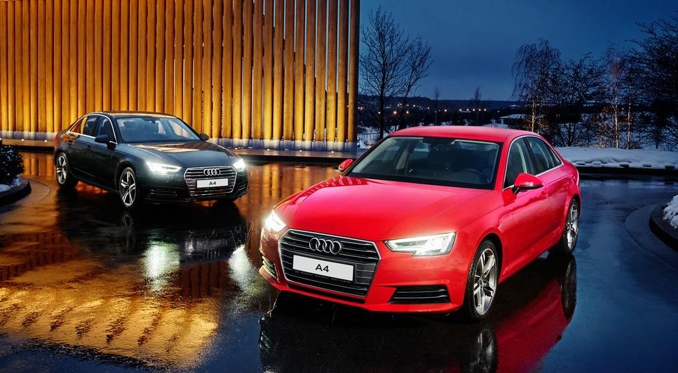 На фото: Audi A4