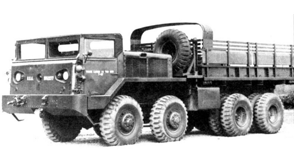 6 Армейский грузовик Т-57 Детройтского арсенала