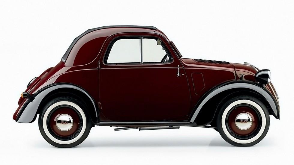 На фото: Fiat 500 Topolino '1936–48
