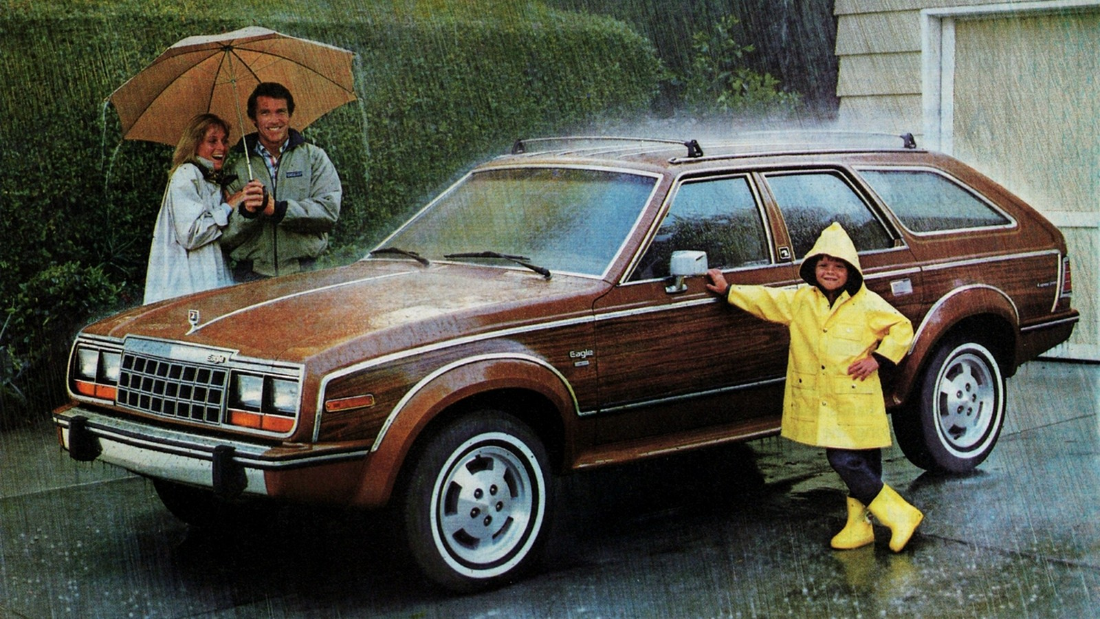 На фото: AMC Eagle Wagon '1984