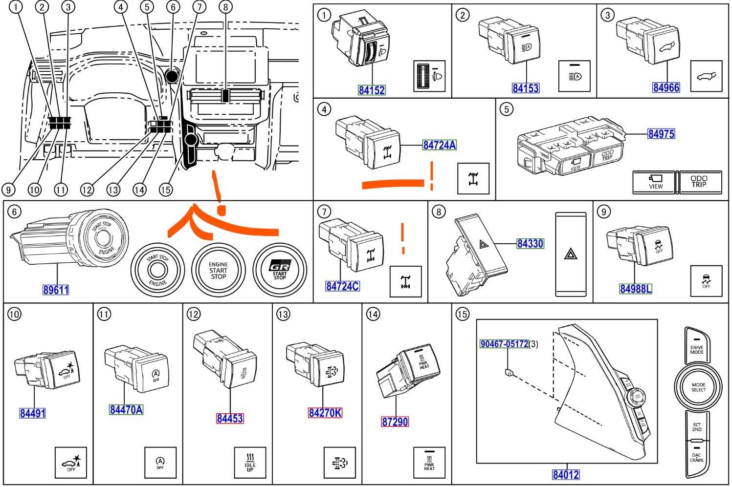Toyota Land Cruiser 300: консервативный дизайн и три блокируемых дифференциала