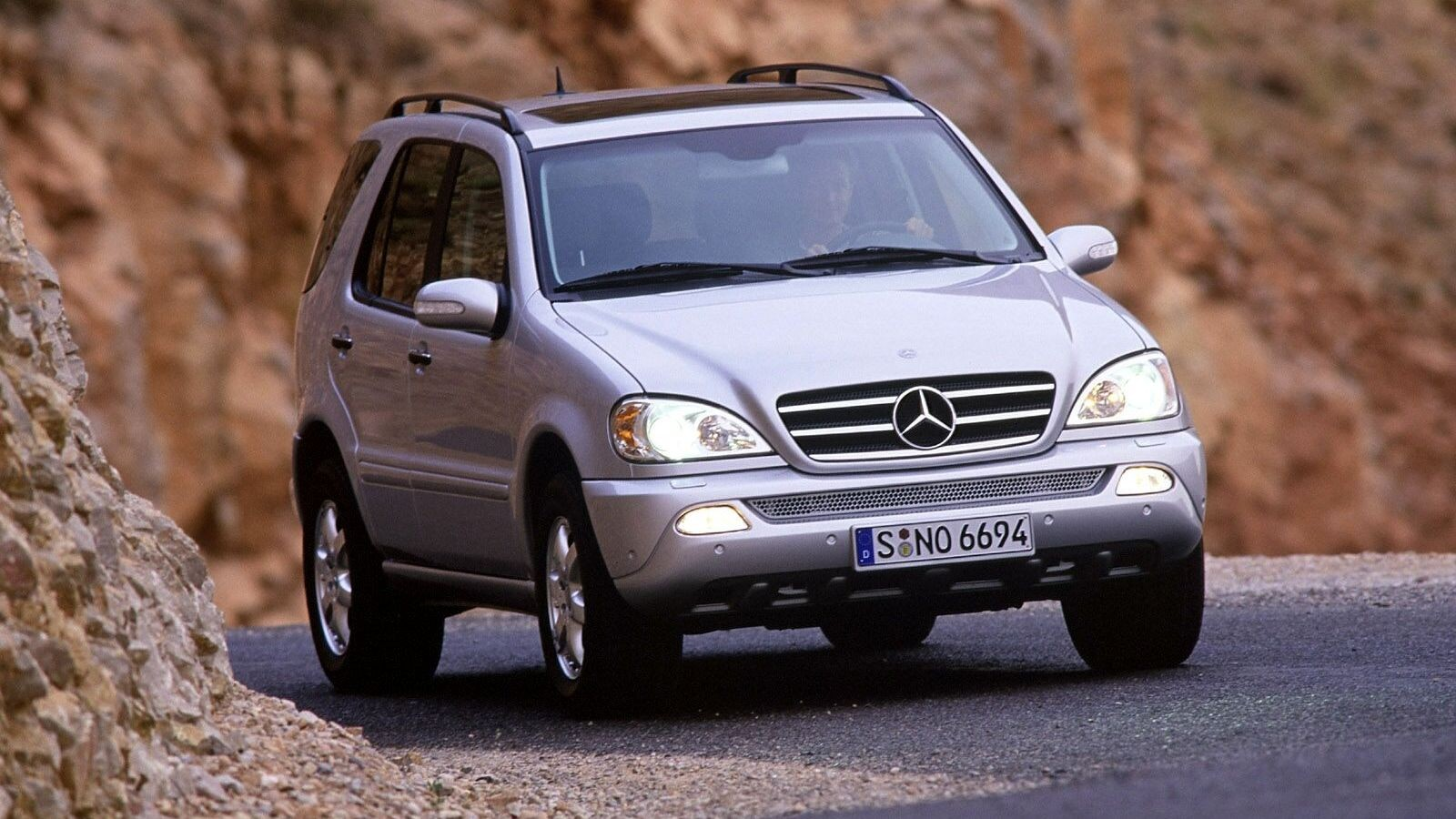 Mercedes-Benz ML 500 Worldwide (W163) '2001–05