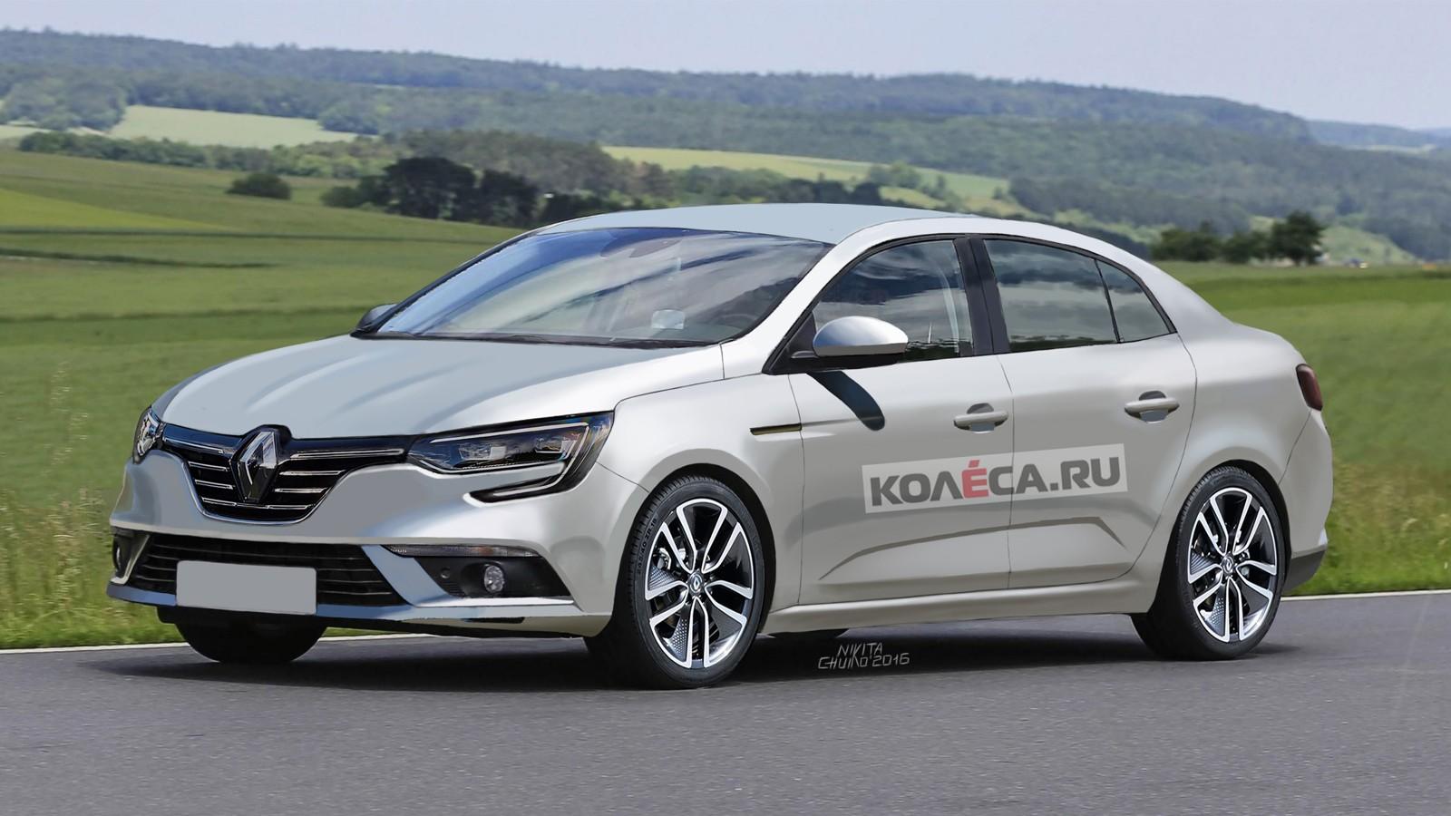 Renault Megane render front