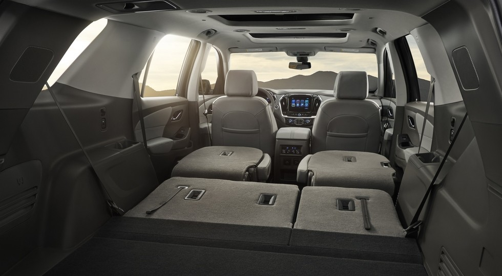 The 2018 Traverse is expected to offer best-in-class passenger v
