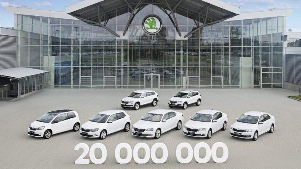 170926-SKODA-20-million-cars-made-since-1905-768x535