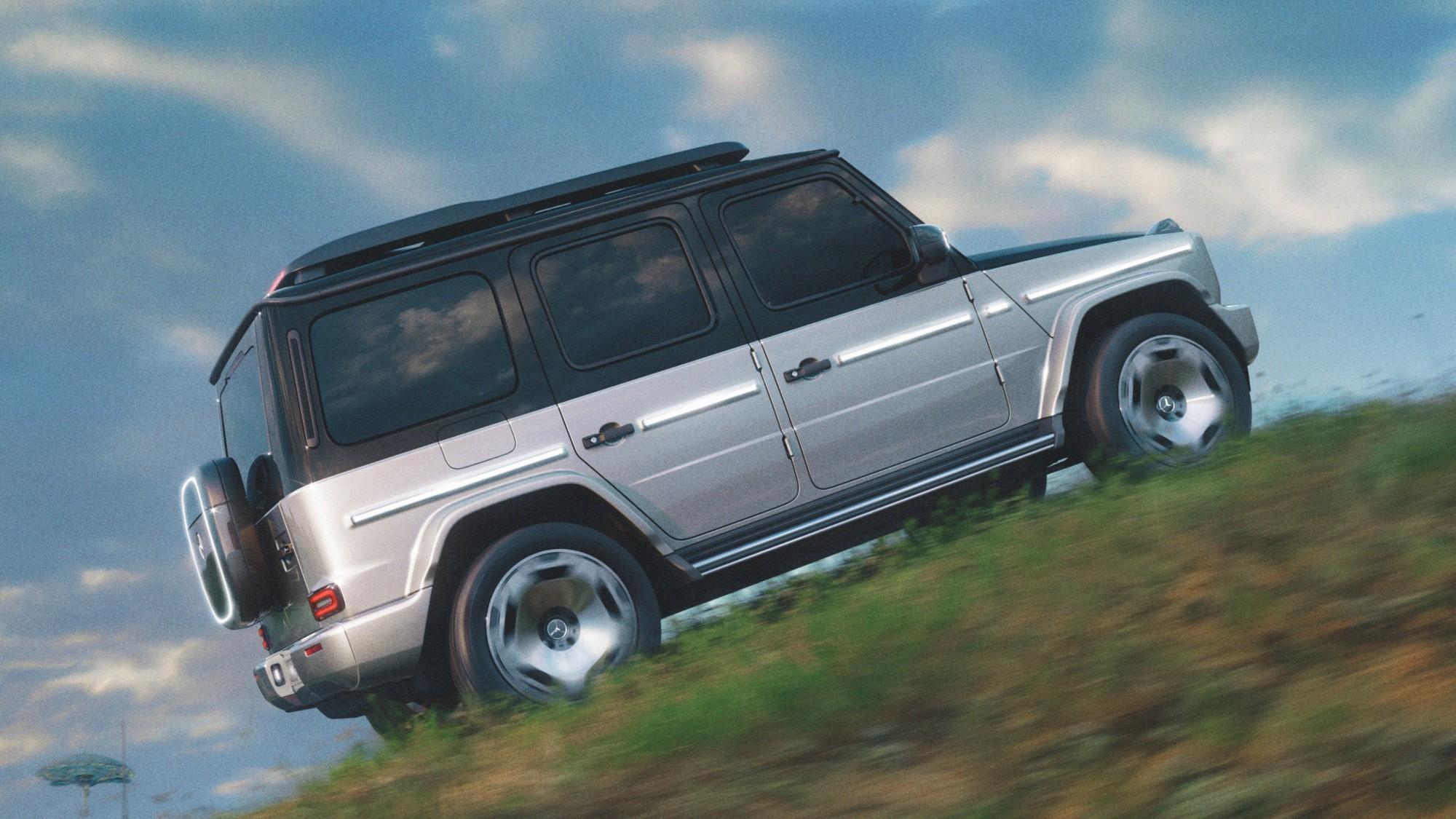 Mercedes-Benz EQG: четыре электромотора, батарея в раме и ящик вместо запаски