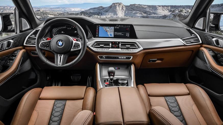 BMW готовит обновлённый кроссовер X5 М: первое изображение