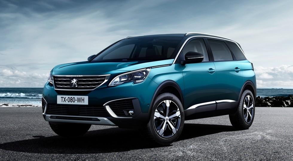 На фото: Peugeot 5008