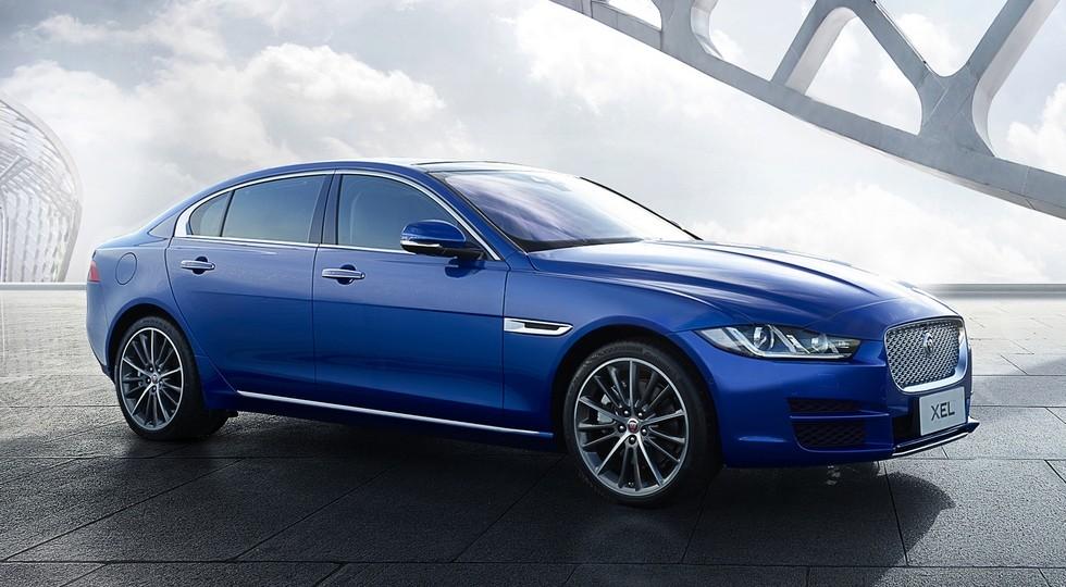 На фото: Jaguar XEL