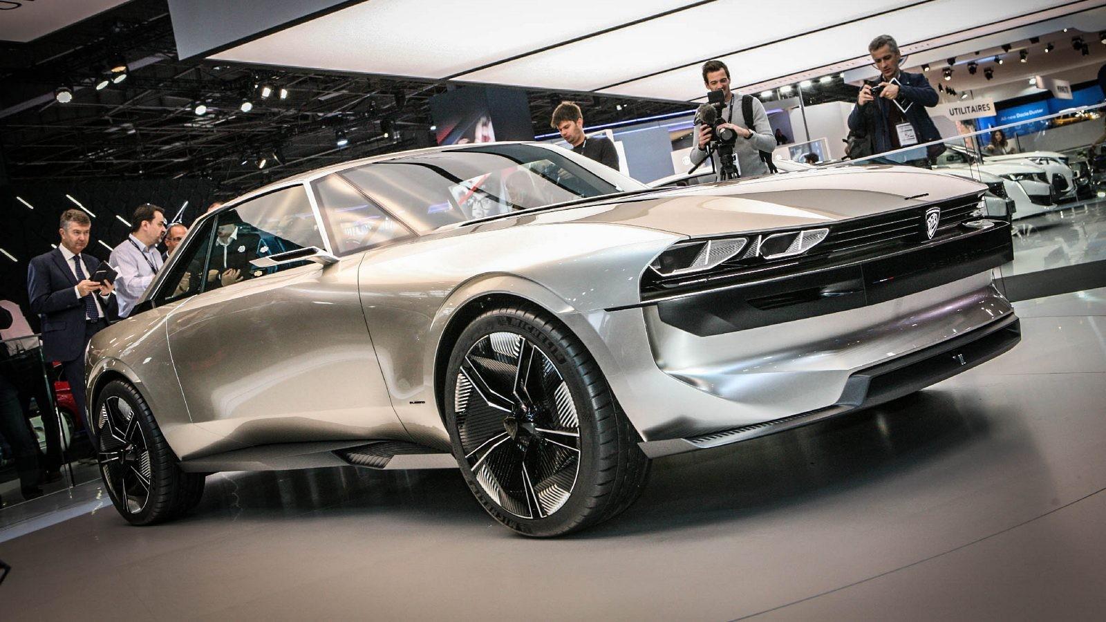 Peugeot e-Legend три четверти (2)