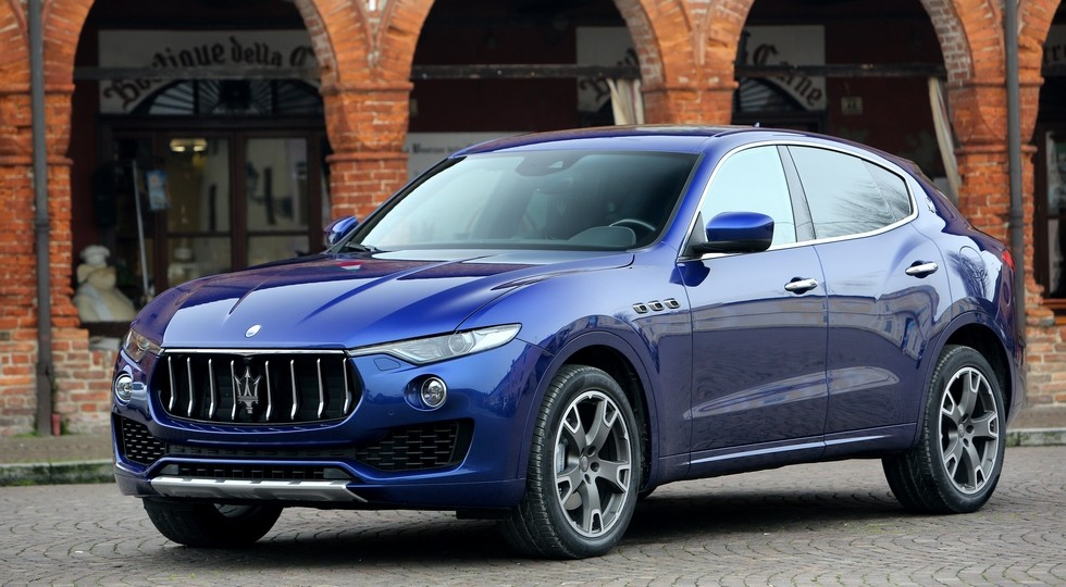 На фото: Maserati Levante
