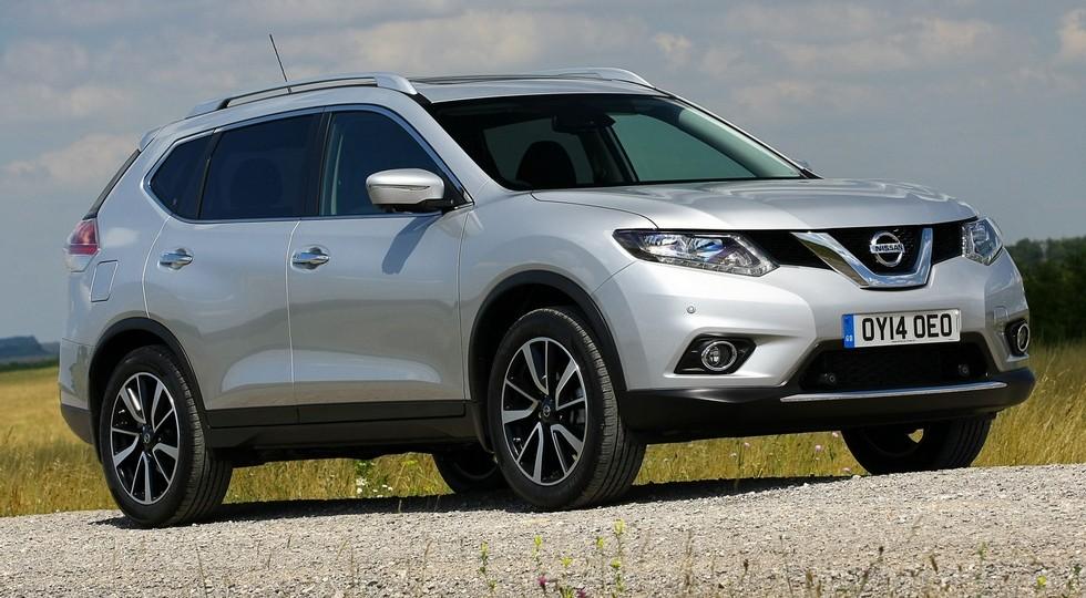 На фото: Nissan X-Trail текущего поколения