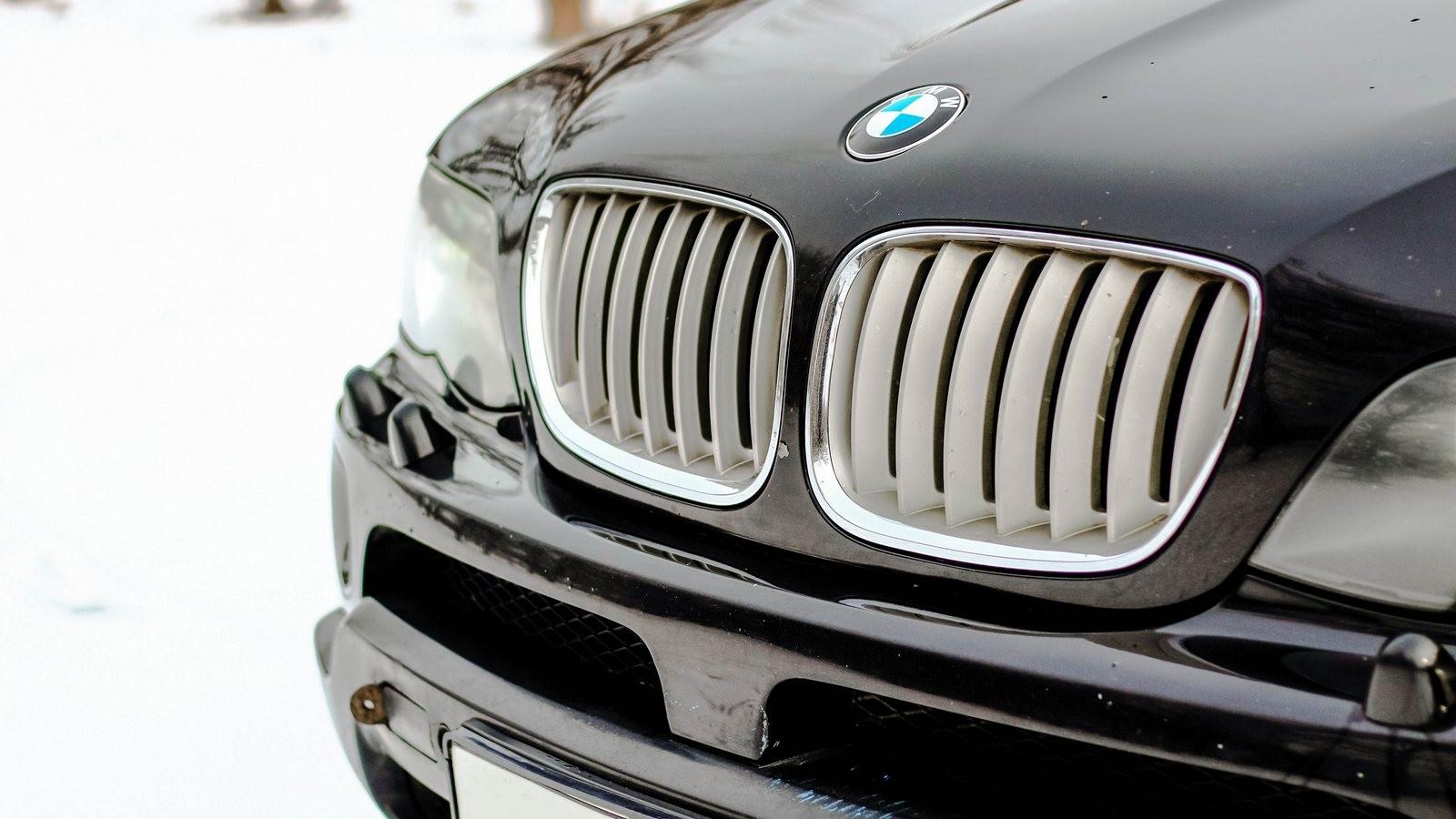 BMW X5 E53 решетка радиатора