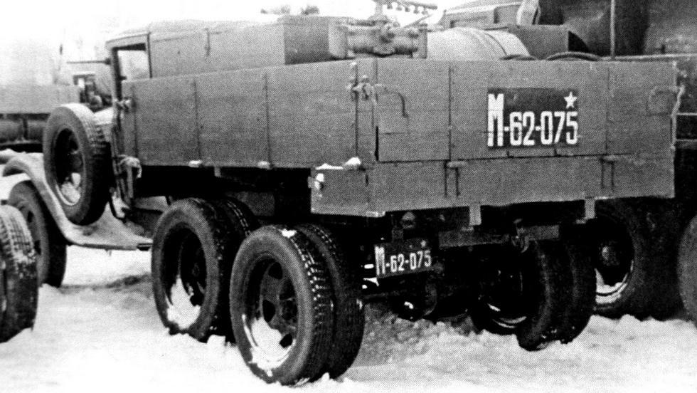 Дегазационная машина АДМ-750 в кузове ГАЗ-ААА (из архива Н. Маркова)
