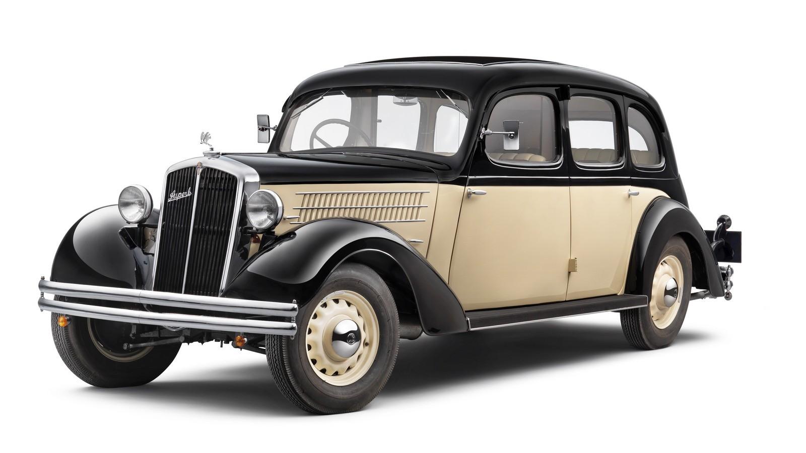 Skoda 640 Superb 1934-го модельного года