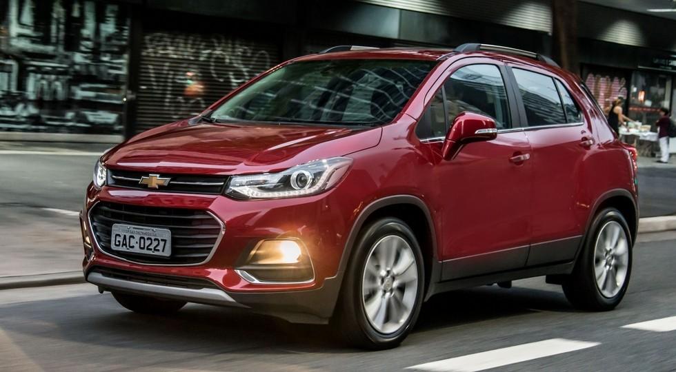 Обновленный Chevrolet Tracker