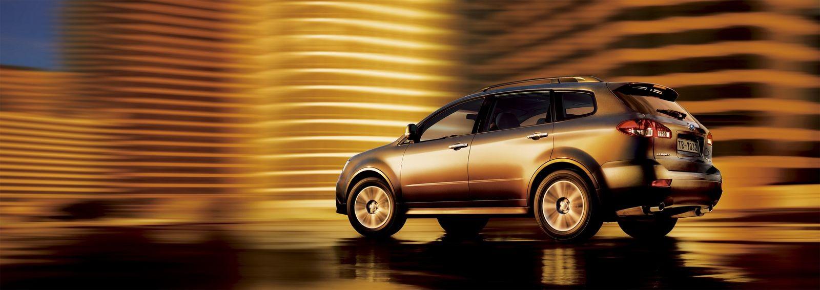 Для обеспеченных и многодетных поклонников: стоит ли покупать Subaru Tribeca за 800 тысяч рублей