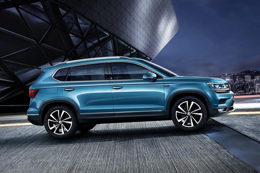 Обещанный России кроссовер Volkswagen показался на новых