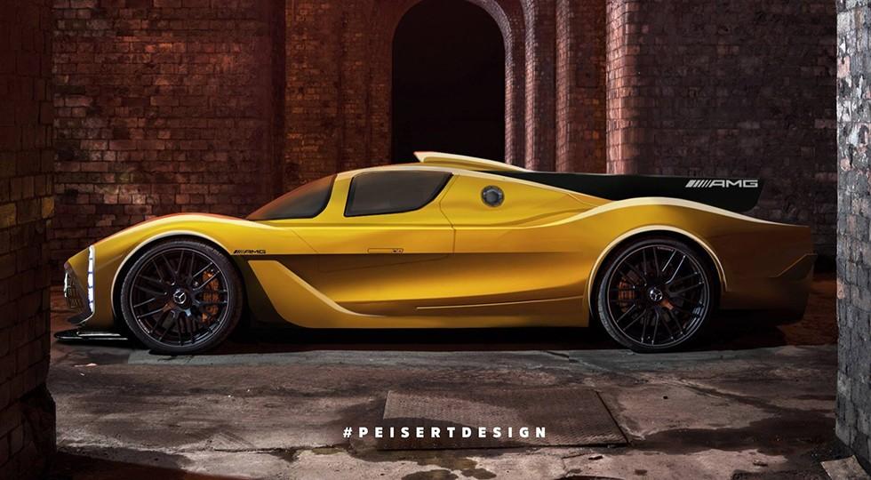 Рендер Mercedes-AMG Project One от Peiser Design