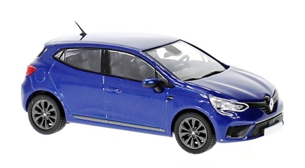Игрушечный новый Renault Clio. Предполагается, что реальный автомобиль будет выглядеть именно так