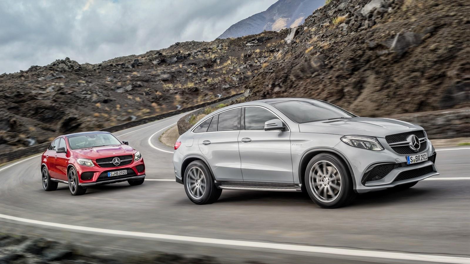 Mercedes-Benz GLE-Klasse Coupé (C292) '2015–н.в. в движении