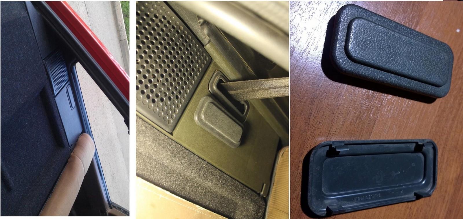 Ремни безопасности для задних пассажиров были далеко не на всех ВАЗ-2108. В вариантном исполнении вместо них стояли заглушки
