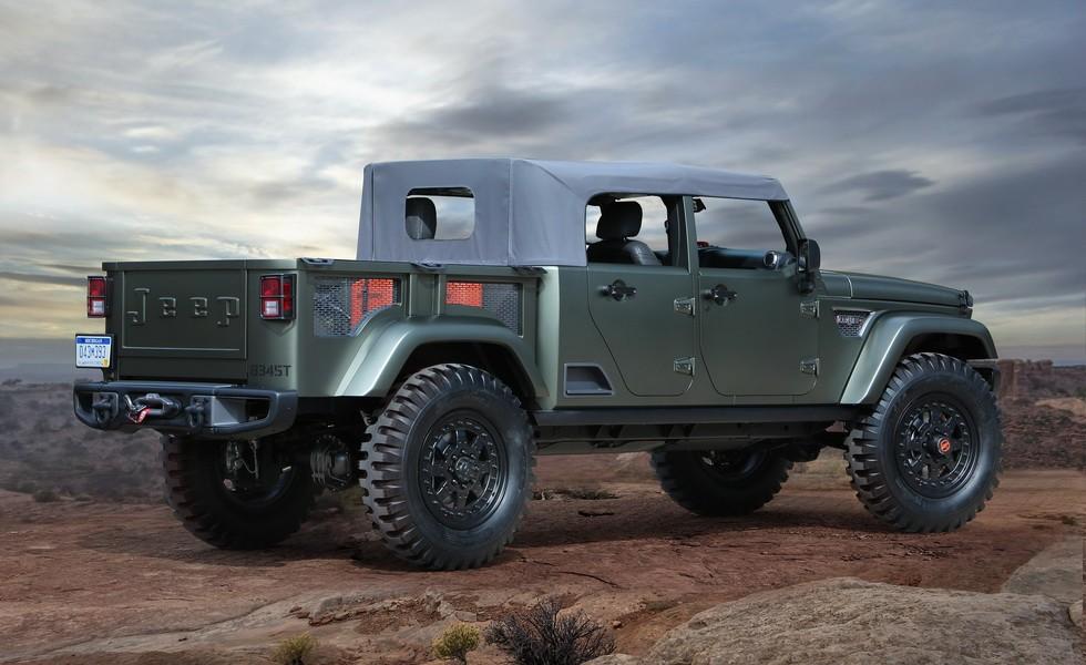 Концепт Jeep Crew Chief 715 2016