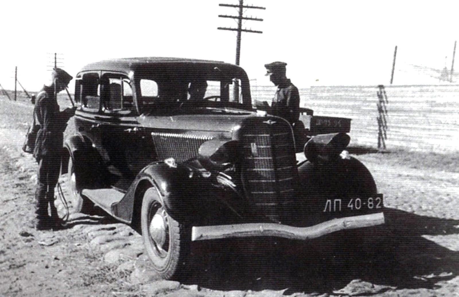 армейские легковушки СССР 12