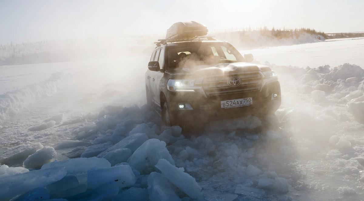 Toyota Land Cruiser 200 и LC Prado принимали участие в экспедиции