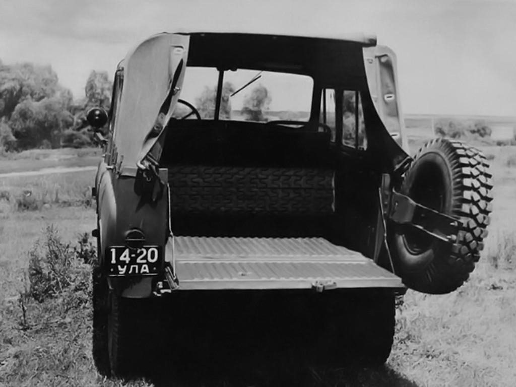История знаменитого советского внедорожника УАЗ-469